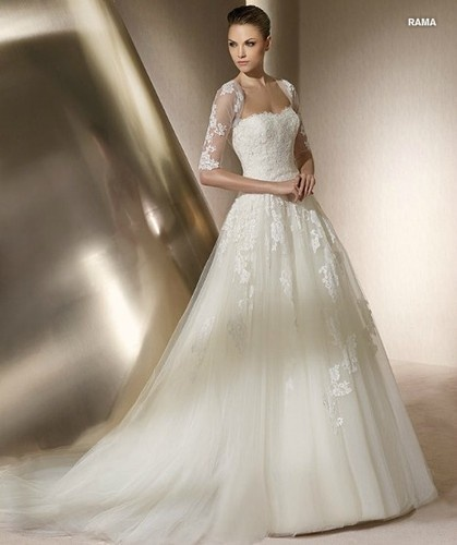 Neu Elfenbein Brautkleid/Brautjungfer/Kleid Abendkleid Gr: 32 34 36 38 40 42 44