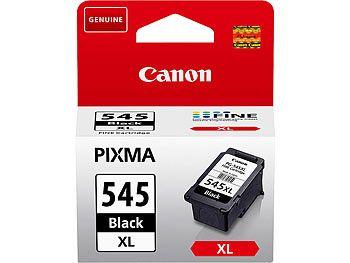 CANON Original Tintenpatrone PG-545XL, black XL CANON Original Tintenpatronen für Canon Tintenstrahldrucker