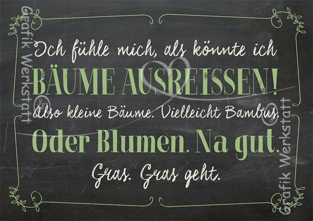 Bäume ausreissen! - Postkarten - Grafik Werkstatt Bielefeld