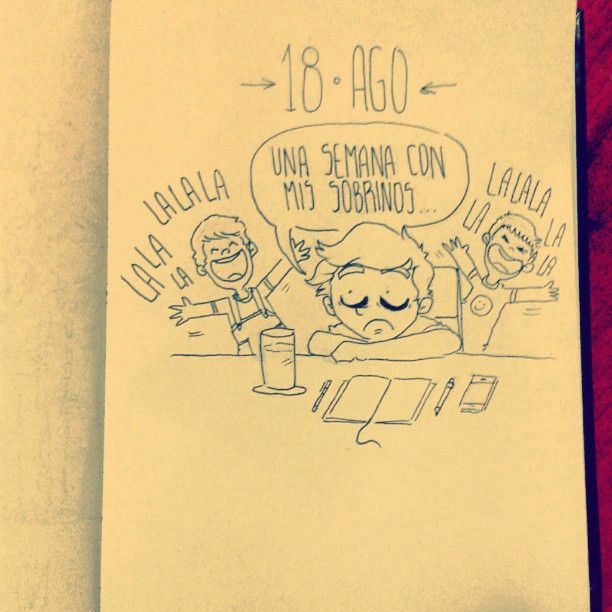 18 AGO - Daily Comic #dailycomic #sketchbook #sketch #comic #doodle #elbocetoaleatorio