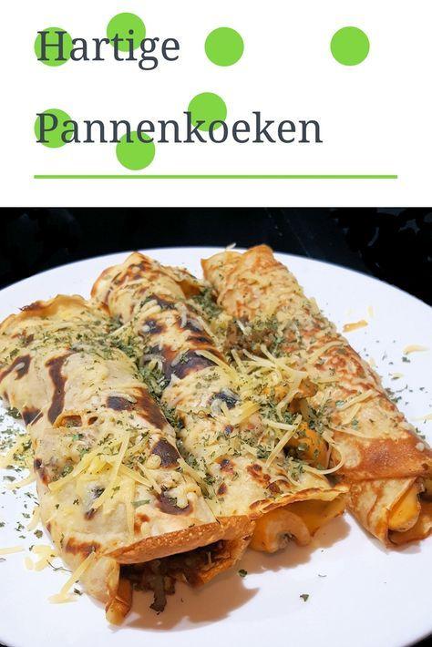 Recept | Hartige pannenkoeken met groente en kaas
