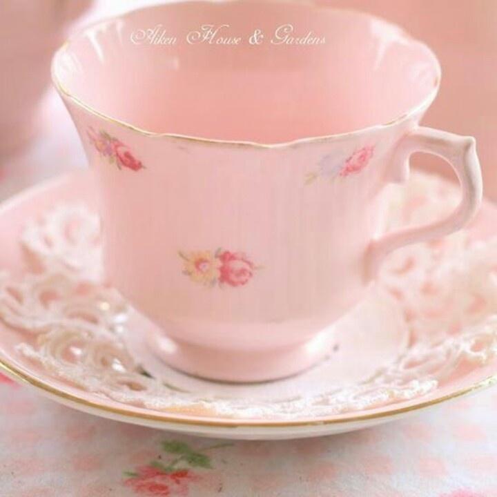 Perfect Pink Teacup
