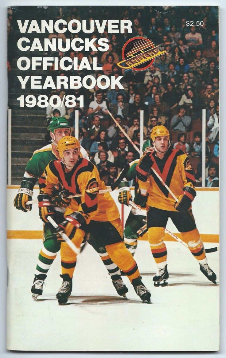 1980-81 Vancouver Canucks NHL Hockey Media Guide Yearbook Record Book | eBay