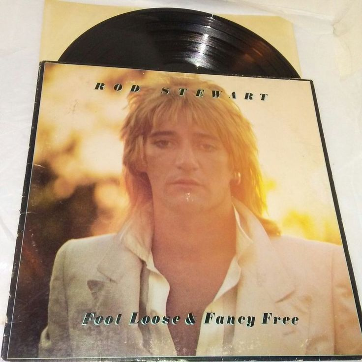 Rod Stewart Foot Loose & Fancy Free Vinyl LP BSK 3092 EX US 1977 Pop Rock Music