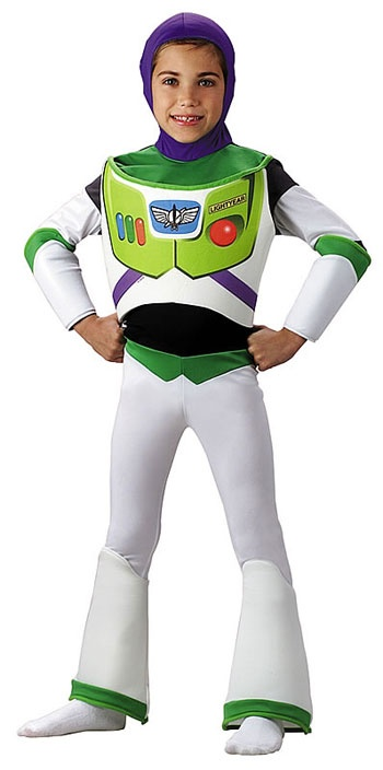 Toy Story - Buzz Lightyear Deluxe Toddler Costume 2T-4T $39.99