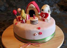 Snoopy Geburtstagstorte