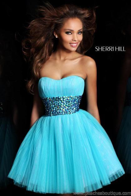2013 Sherri Hill Short Dresses