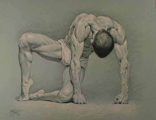 Veins. 2013. Rita Foster. charcoal drawing.