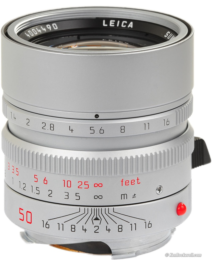 $3600. Leica Summilux 50mm f/1.4 ASPH. I have my grandfather's v1 summilux, but one day I want to try the smooth bokeh on this modern masterpiece.