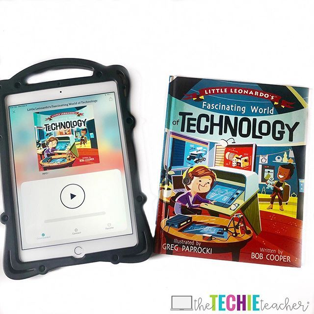 This technology themed children's book is a great way to discuss the fascinating world of technology! Pair it with the app, Novel Effect, and it w…