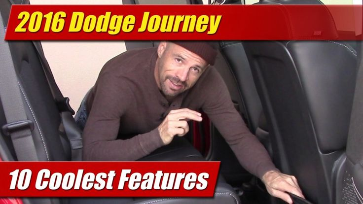 10 Coolest Features: 2016 Dodge Journey - TestDriven.TV