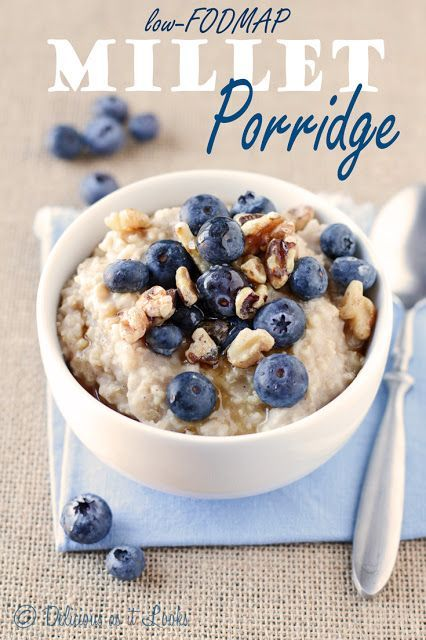 Millet Porridge - 3 Ways!  {Low-FODMAP, Gluten-Free, Vegan}  /  Delicious as it Looks