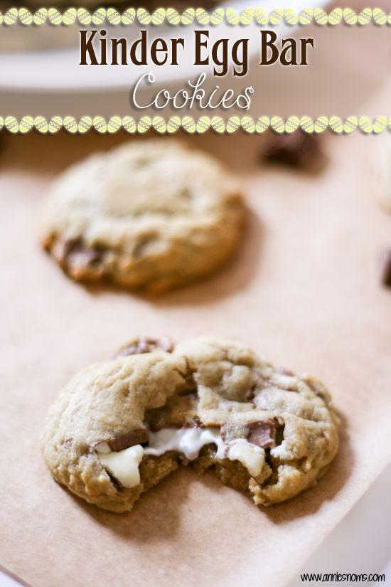 Kinder Egg Bar Cookies