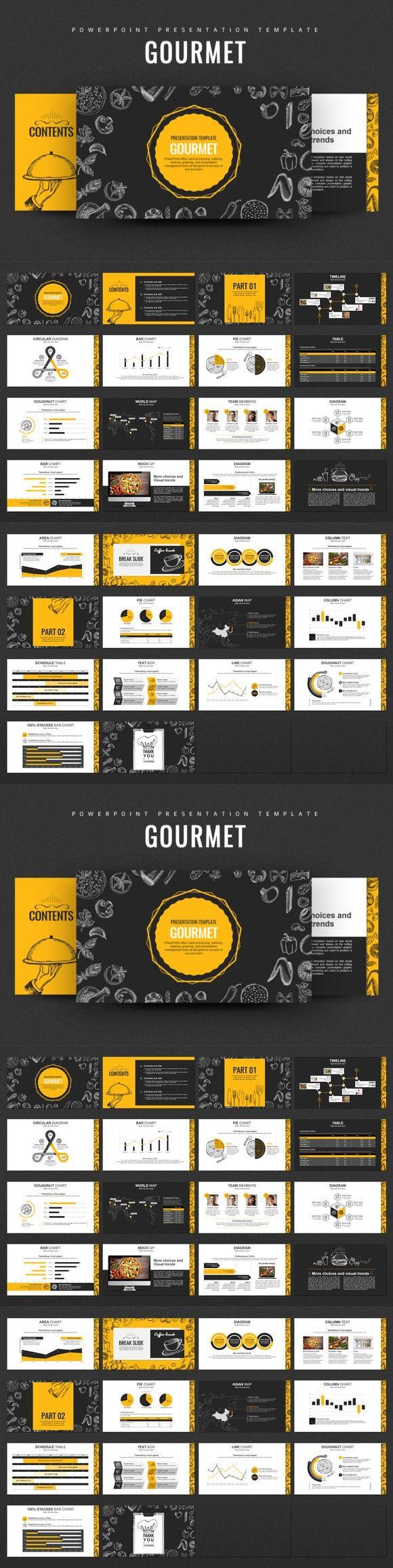 Gourmet Food PowerPoint