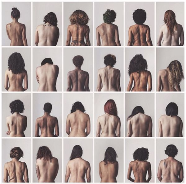 Women Strip Down Bare Backs In Empowering Photo Series About Body Image