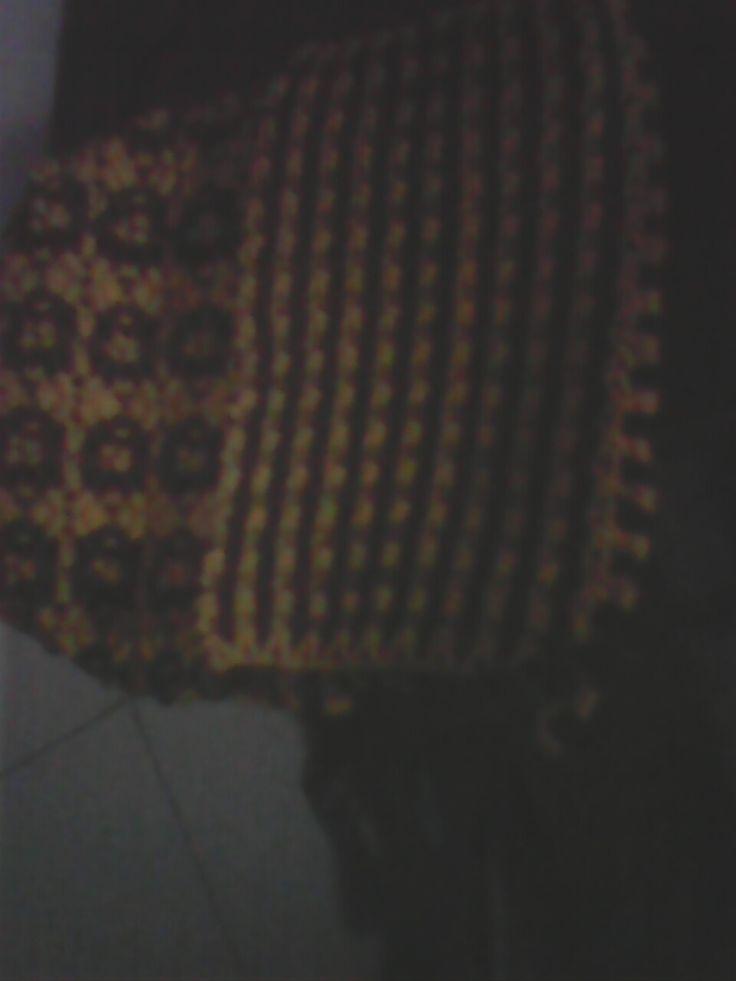 tas motif bunga