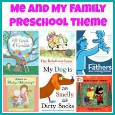 Me and My Family Theme- book list to accompany preschool theme Plus various other themes