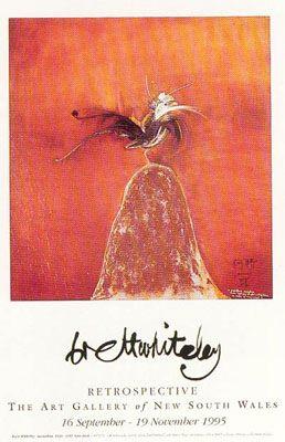 Lyre Bird poster print by BrettWhiteley