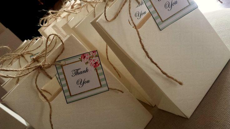 idee sacchetti regalo ringraziamento festa di compleanno