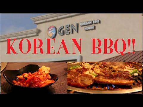 [Food Mission] GEN Korean BBQ House - Huntington Beach, CA - YouTube