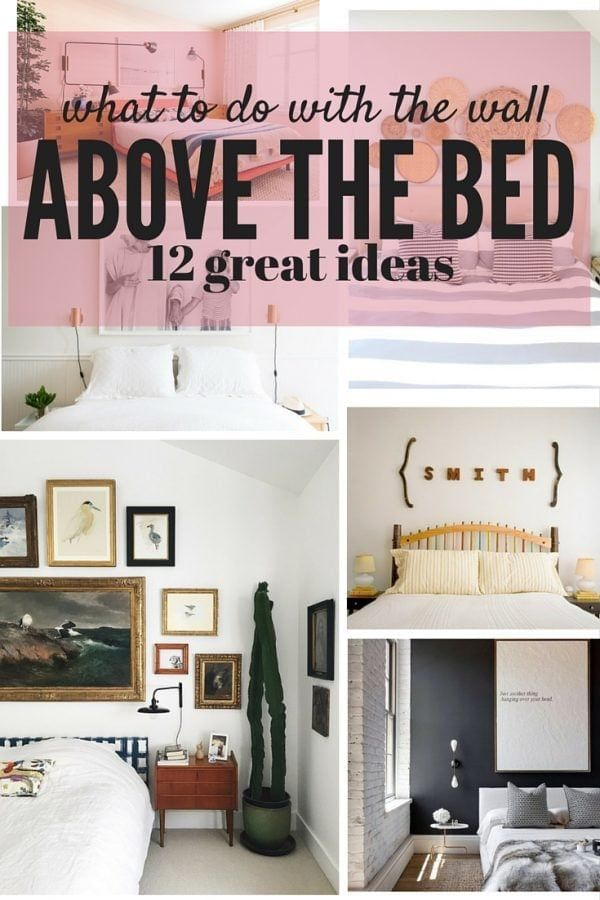 The Area Above Your Bed Is A Great Blank Slate For Some Fun Art