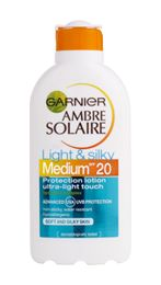 Garnier ambre solaire light &silky spf20