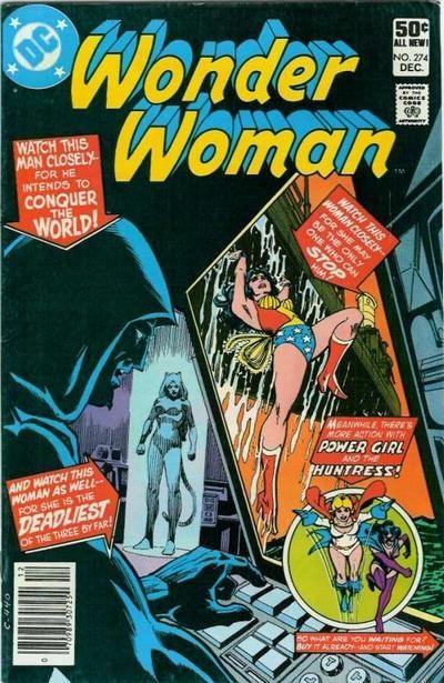 Wonder Woman #274 | Dave's Comic Heroes Blog: DC On TV Superman Batman Wonder ...