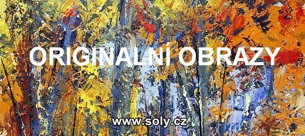 Originální české obrazy, krajina příroda