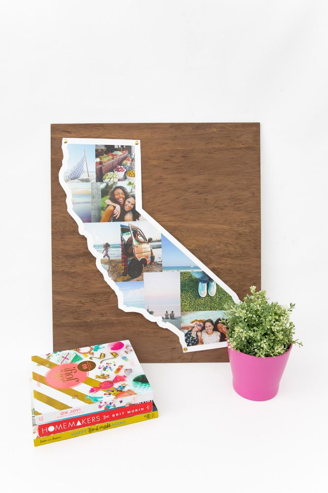 DIY State Photo Collage - Snaps: A Blog from SnapBox