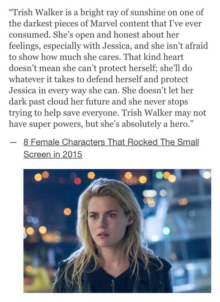 """One of the many heroes on """"Jessica Jones"""""""