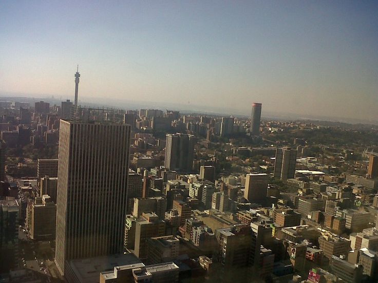 We love joburg. Highest peak in africa.