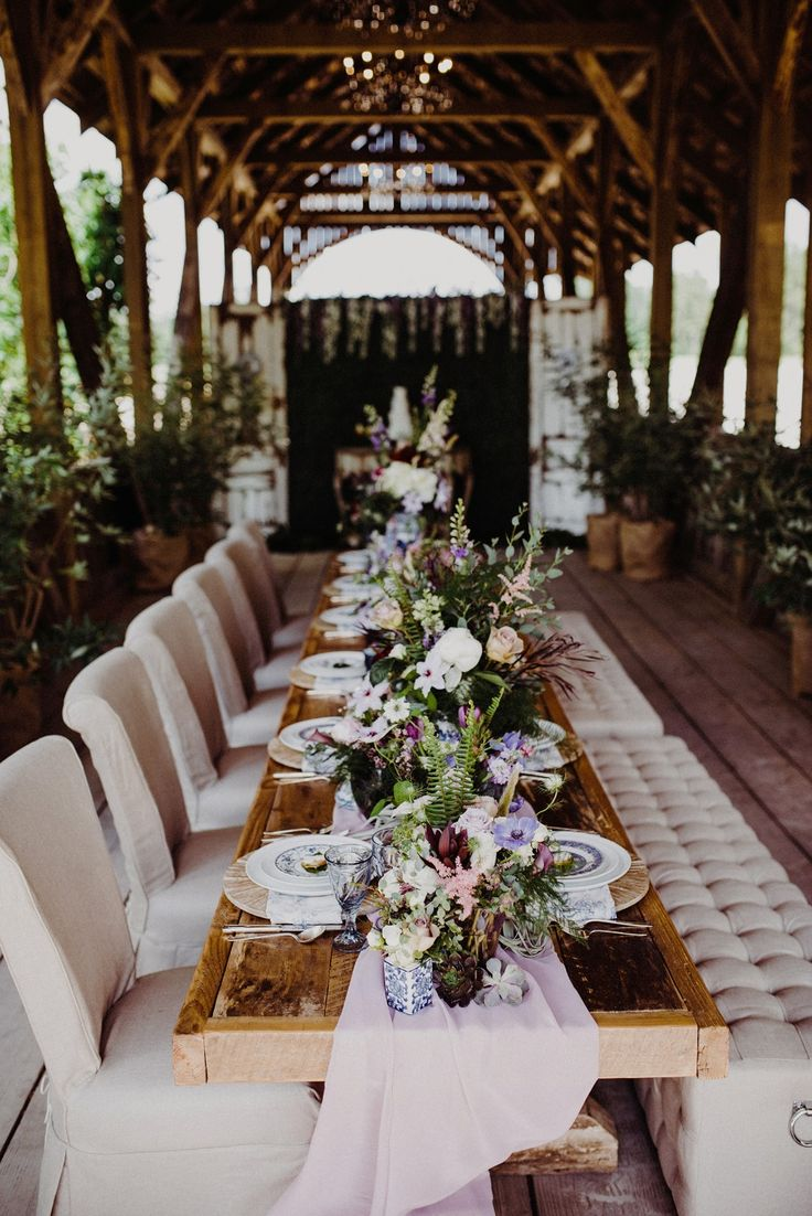wedding decoration ideas south africa%0A Dramatic Vintage Wedding Inspiration in Purple and White