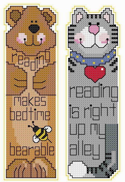 Χειροποίητοι σελιδοδείκτες / Handmade bookmarks