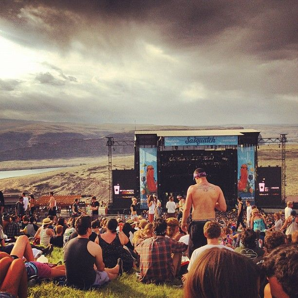 Sasquatch Festival - next year will be the year :)