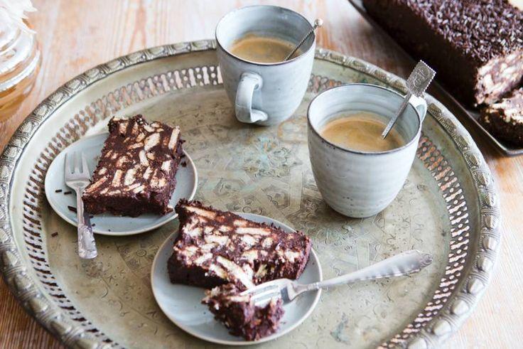 Het fijne van arretjes cake? Niet alleen dat-ie heel lekker is, maar hij hoeft ook de oven niet in!- Recept - Allerhande