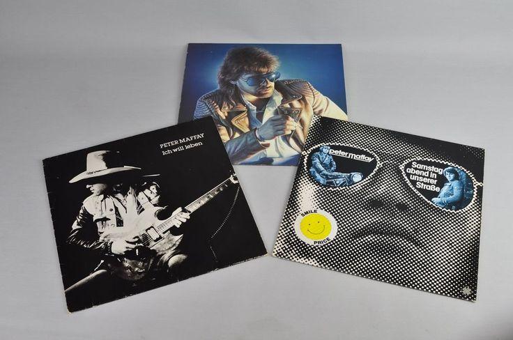 Peter Maffay LPs Vinyl 3 Stück Sonne in der Nacht Ich will leben LP Schallplatte