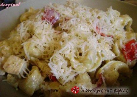 Ένα γρήγορο και πεντανόστιμο φαγητό με λίγα υλικά για ρομαντικό δείπνο ή για όλη την οικογένεια.