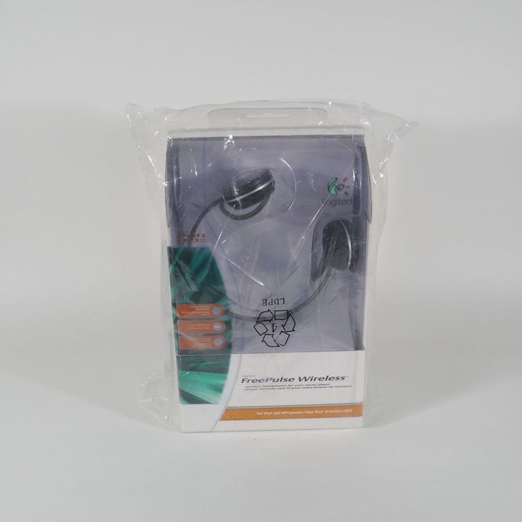 Logitech FreePulse Wireless Bluetooth Neckband Headphones 980461-0403 #Logitech