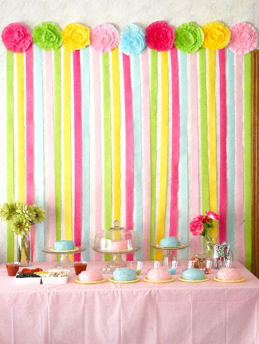 Party Decorating Ideas With Streamers 88 best baptism images on pinterest | marriage, birthday party