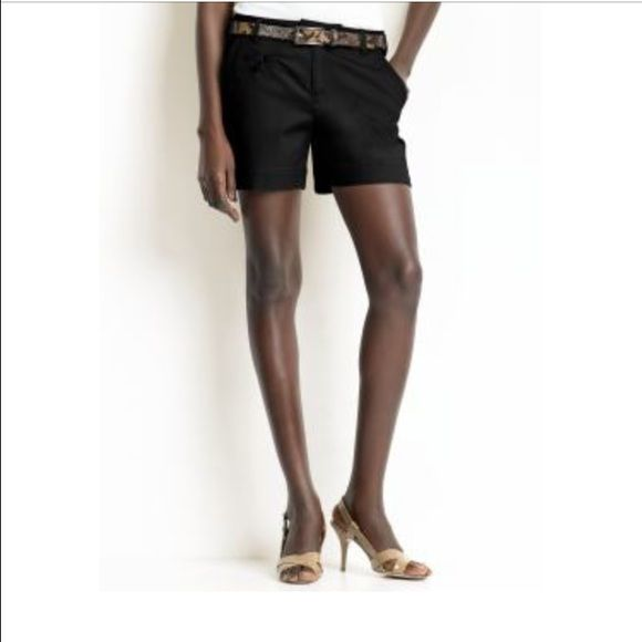 Banana Republic Shorts Dark navy (almost black) shorts in Banana Republic's classic Martin fit.  Worn only a handful of times and in excellent condition with no flaws.  A casual and sophisticated short this is perfect for spring and summer! Banana Republic Shorts Bermudas