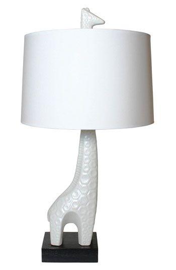 Giraf lamp #kinderkamer  Jonathan Adler Giraffe lamp #kidsroom