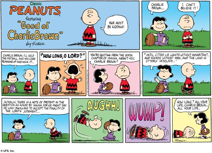 """Peanuts: """"How Long, O Lord?""""   Art   Pinterest   I am"""