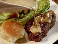 Fillet with Peppercorn Sauce