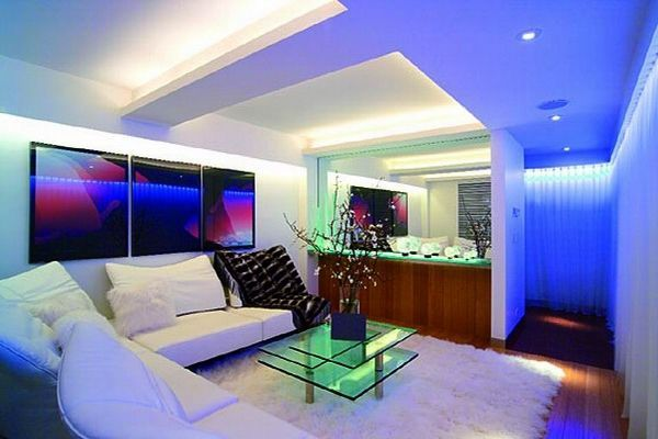 led light living room future house ideas pinterest. Black Bedroom Furniture Sets. Home Design Ideas