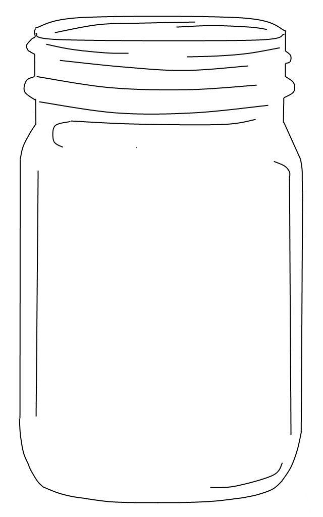 Lively image inside mason jar printable
