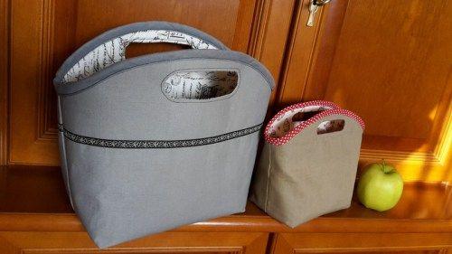 Korb / tasche nähen - sicher toll für wolle oder Zeitungen- meine Freebooks | FriemelEcke, FriemelStilo