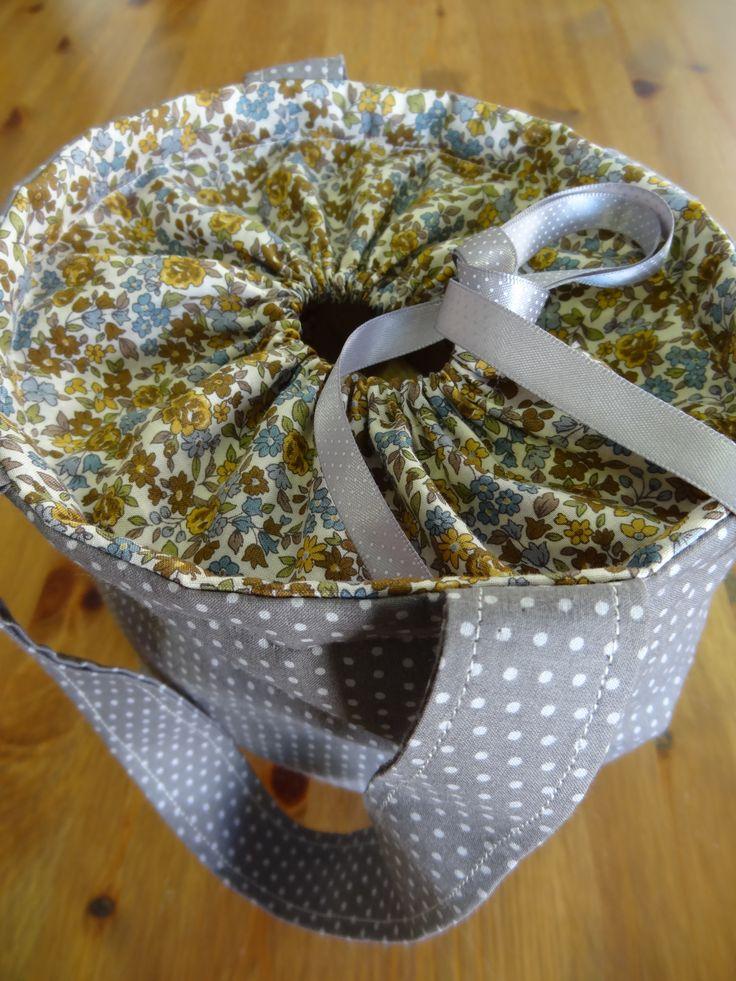 Sac d'automne pour la Boutik' Créative - tissus Frou-Frou