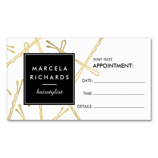 The Best Appointment Card Ideas On Pinterest Design Suites - Business card appointment template