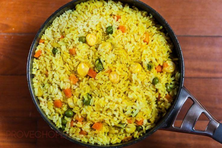 Arroz a la Jardinera // Peruvian Garden Rice - Provecho Peru