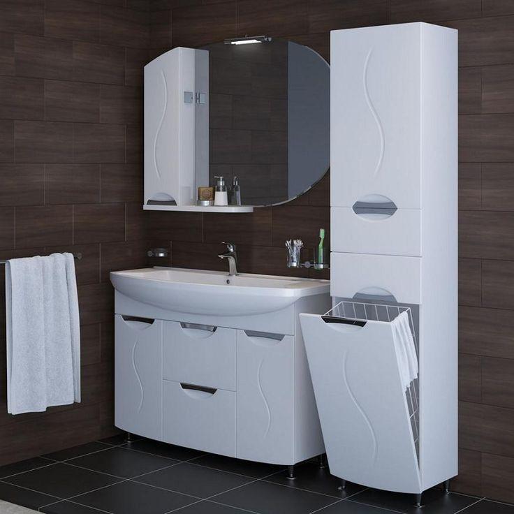 Обзор шкафов, пеналов для ванной комнаты, фото интерьеров ванных комнат | Своими руками